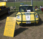 2002 Green Bay Packers VW Beetle Royalty Free Stock Images