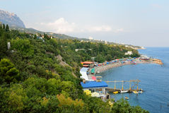 Green bay of Simeiz Royalty Free Stock Photography