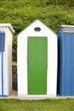 Green beach hut Royalty Free Stock Photo