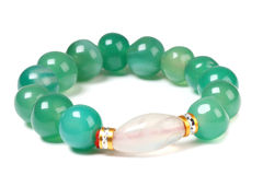 Green bead Stock Photography