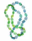 Green beads Royalty Free Stock Photography