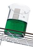 Green Beaker Royalty Free Stock Photo