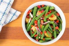 Free Green Bean And Potato Salad Royalty Free Stock Photos - 84749018