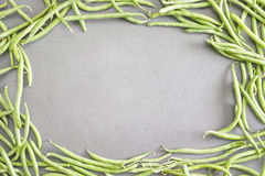 Green bean background Stock Images