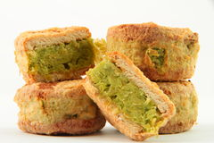 Green bean cake Royalty Free Stock Photos