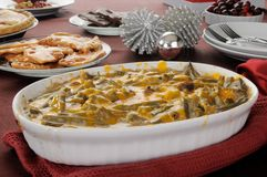Green bean casserole Stock Photos