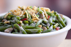 Green bean casserole Stock Image