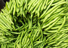Green Bean. Freshly picked green bean or commonly known as Baguio Beans in the Philippines ready for sale in a retail market Royalty Free Stock Photography