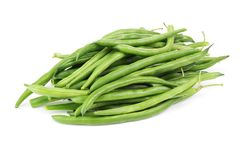 Green bean  isolated Royalty Free Stock Images