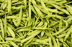 Green bean at the market Stock Photos