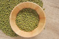 Green bean or mung bean Stock Image