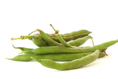 Green bean pods detail Stock Photos