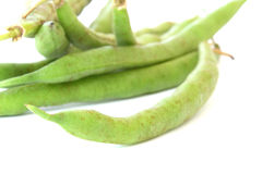 Green bean pods detail Royalty Free Stock Photography