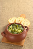 Green Bean and Potato Hotpot Stock Photos