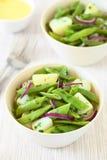 Green Bean and Potato Salad Stock Photo