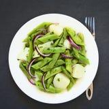 Green Bean and Potato Salad Royalty Free Stock Images