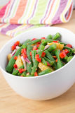 Green bean and potato salad Stock Photography