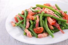 Green bean salad Stock Photo