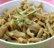 Green bean salad Stock Images