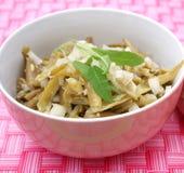 Green bean salad Royalty Free Stock Photos
