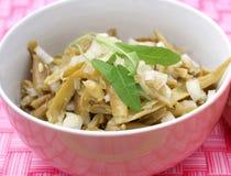 Green bean salad Royalty Free Stock Image