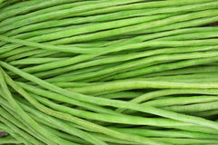 green beans background Stock Photos