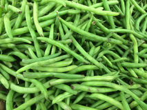 Green beans background Royalty Free Stock Images