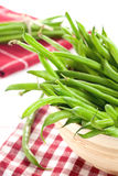 Green beans in bowl Royalty Free Stock Images