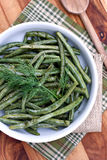 Green Beans with Dill Royalty Free Stock Photos