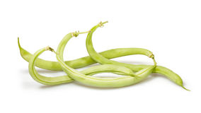 Green beans group Stock Photography