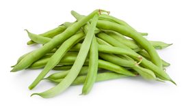 Free Green Beans Isolated On White Background Stock Photos - 154536413