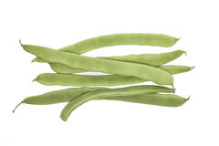 Green beans isolated Royalty Free Stock Photo