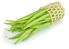 Green beans isolated on white background Stock Images