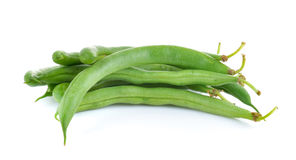 Green beans isolated on  white background Stock Image