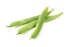 Green beans isolated on a white background Stock Image