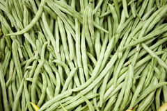 Green Beans. At the Market Royalty Free Stock Images