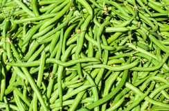 Green beans at Market Royalty Free Stock Photo