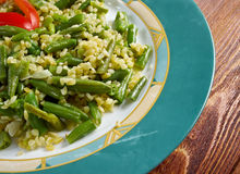 Green beans salad Stock Images
