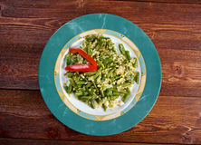 Green beans salad Stock Photography