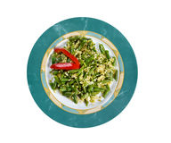Green beans salad Royalty Free Stock Photos