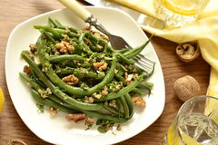 Green beans salad Royalty Free Stock Image