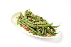 Green beans salad Royalty Free Stock Photo