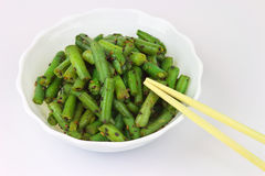 Green Beans with Sesame Dressing. Stock Photography