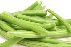 Green beans upclose Royalty Free Stock Image