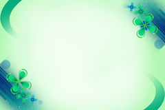 Green beautiful flowers, abstrack background Royalty Free Stock Photos