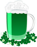 Green beer Royalty Free Stock Photography