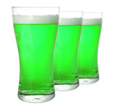 Green beer Royalty Free Stock Photo