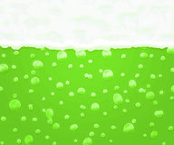 Green Beer Background Stock Images