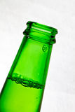 Green beer bottle Stock Image
