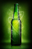 Green beer on green Royalty Free Stock Photography